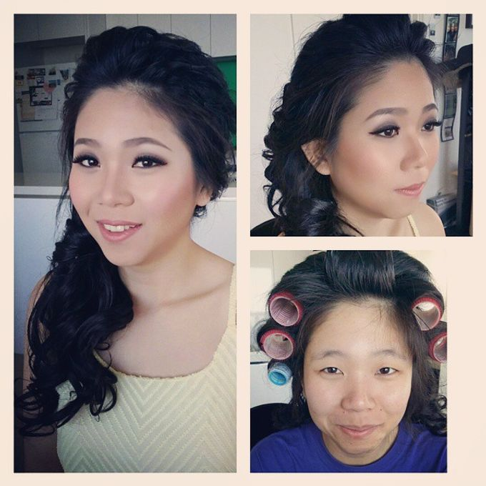 Before and After by Elly Liana Makeup Artist - 007