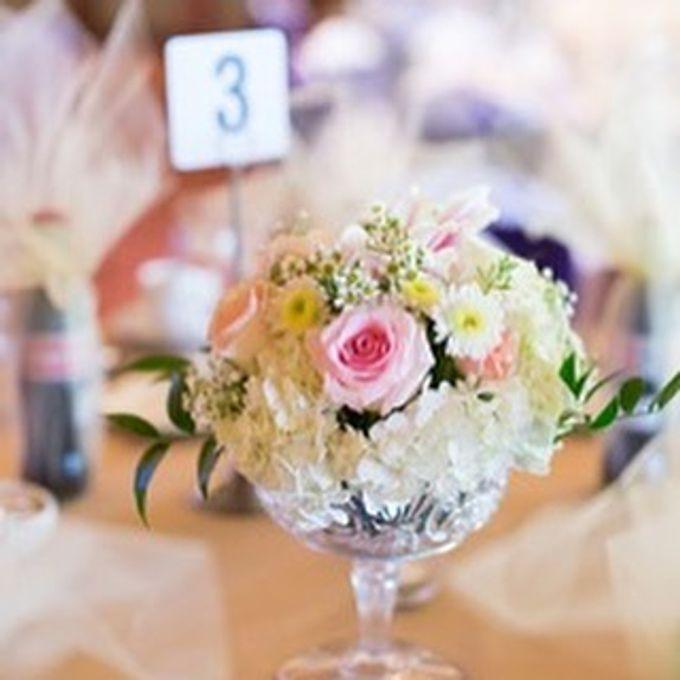 Champagnelilacplum Wedding Decor By Bella Amour Events Hawaii