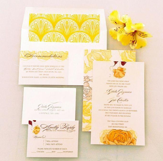 Danielle Behar Designs Invitationer by Danielle Behar Designs - 004