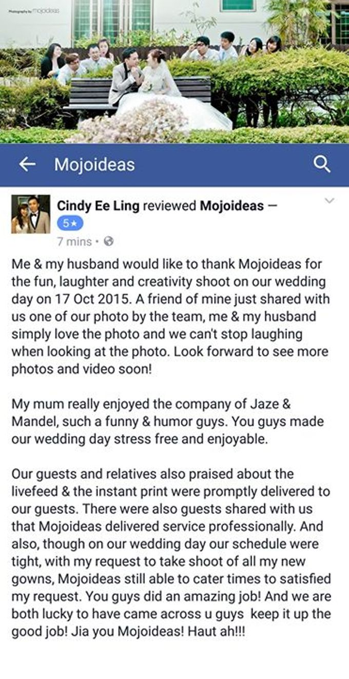 Real Wedding Testimonials by Mojoideas - 031