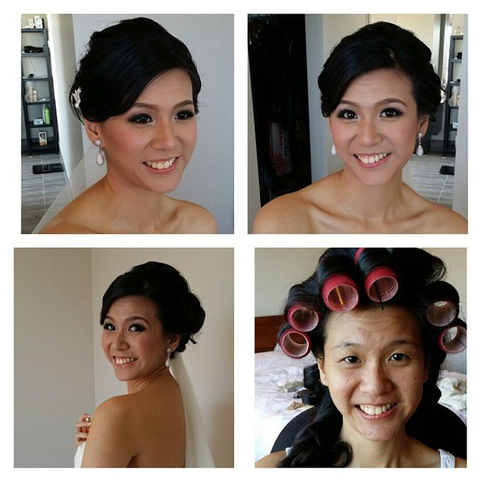 Before and After by Elly Liana Makeup Artist - 008