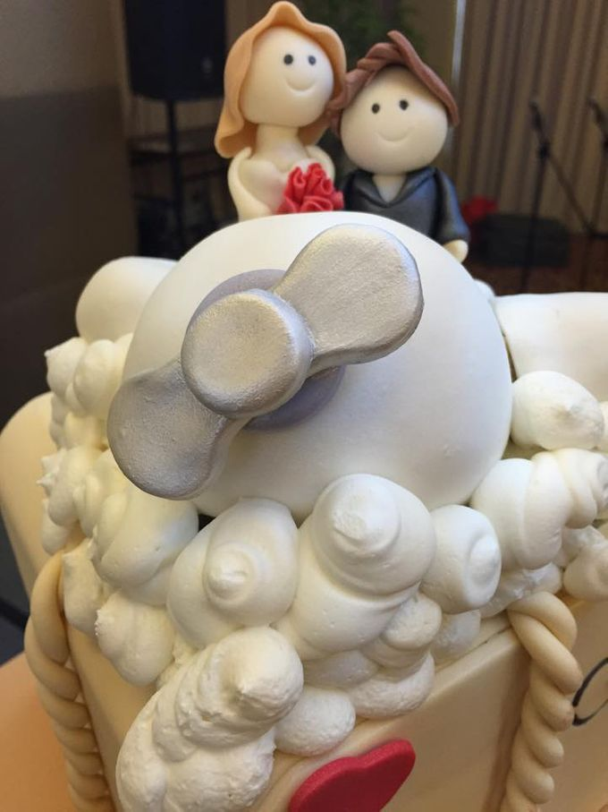 Wedding Cakes by Cupkeyk N Art - 008