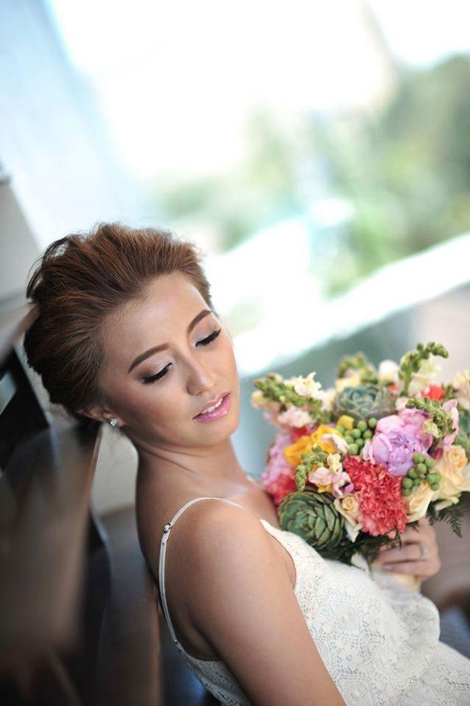 Weindrich & Christel Wedding by Melody Tinoy Makeup Artist - 002