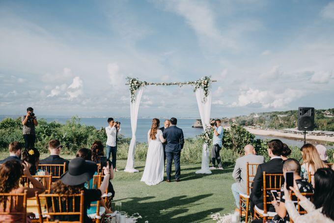 Sweet Rustic Wedding at New Kuta Golf & Villa Bayu Bali by Silverdust Decoration - 002