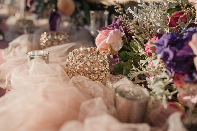 Soft Purple & Lavender Decoration Wedding by Bali Izatta Wedding Planner & Wedding Florist Decorator - 003