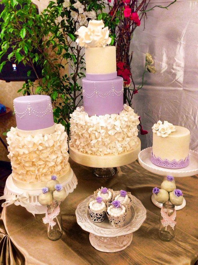 Wedding Cakes by Cupkeyk N Art - 009