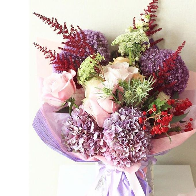 Flower Bouquets by Blooming Elise Flowers - 012