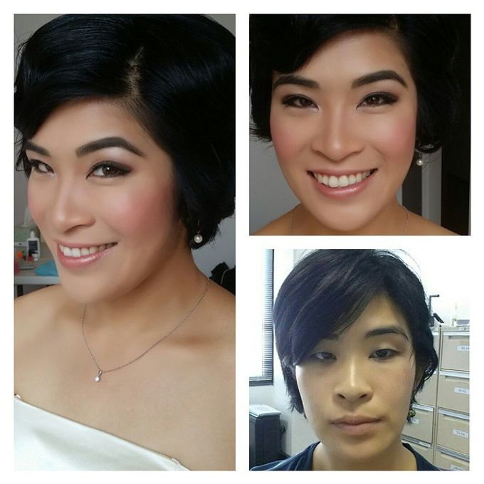 Before and After by Elly Liana Makeup Artist - 006