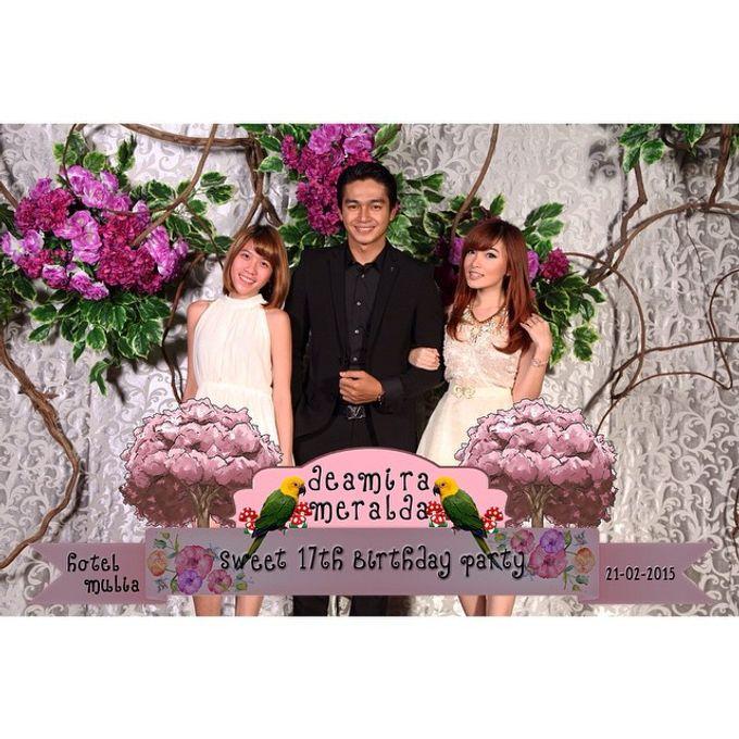 Deamira Meralda Sweet Seventeen Birthday Party by Laserman show - 003