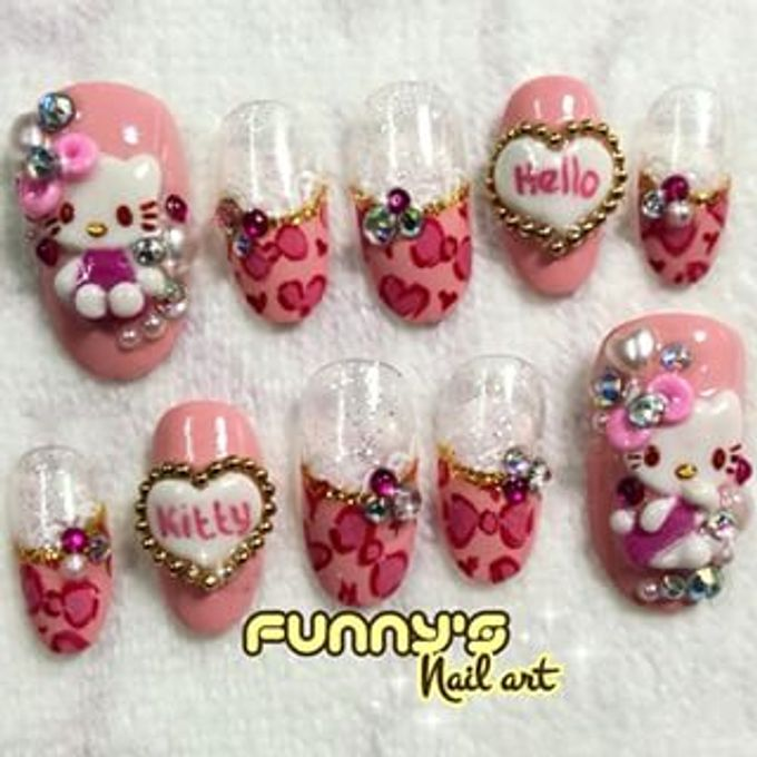 JULY by Funny's Nail art - 006