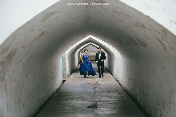 Herman & Vian Prewedding by Chroma Pictures - 001