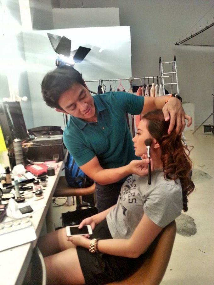 BEHIND THE SCENE 2 by Dendy Oktariady Make Up Artist - 031