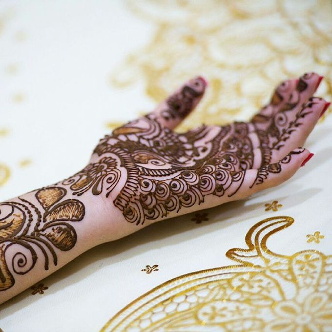 Bridal Henna - Arabic by Nakreze Mehndi - 026