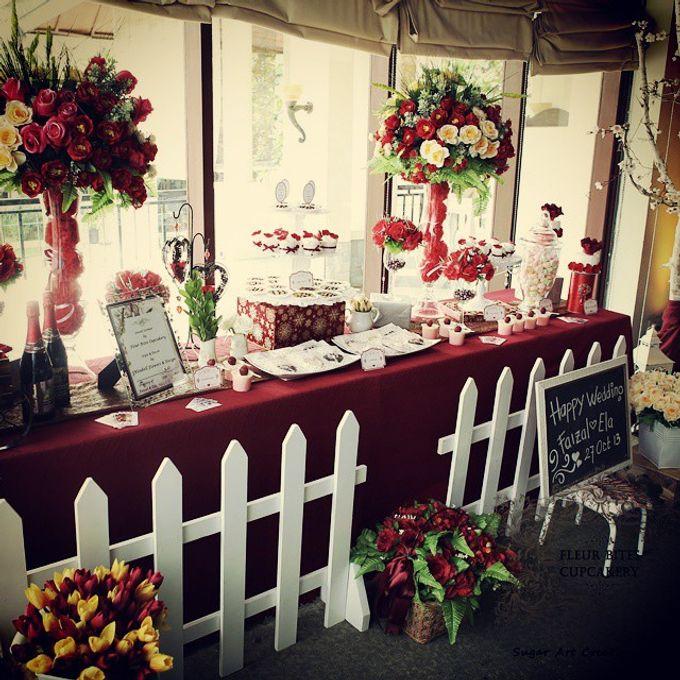 Dessert Table by Fleur Bites Cupcakery - 005