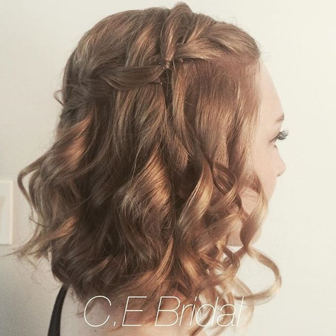 Hairstyles  by C.E Bridal - 025
