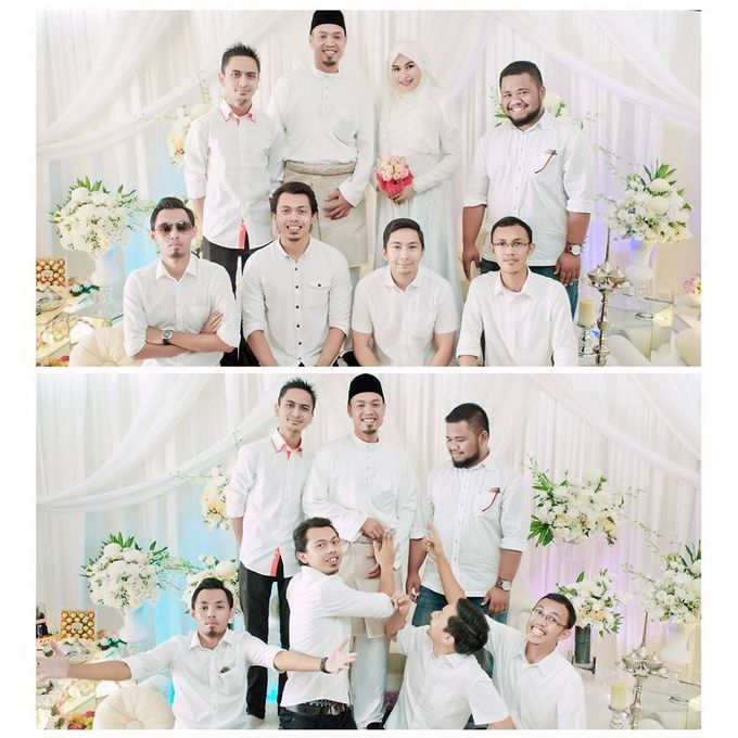 Solemnization of  Calissa & Nasoha by Amalina Tuna Photography - 009