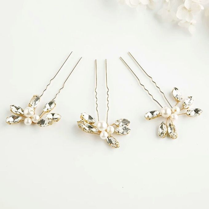 Quinn Wedding Hairpin by Fairytale Undercover - 001