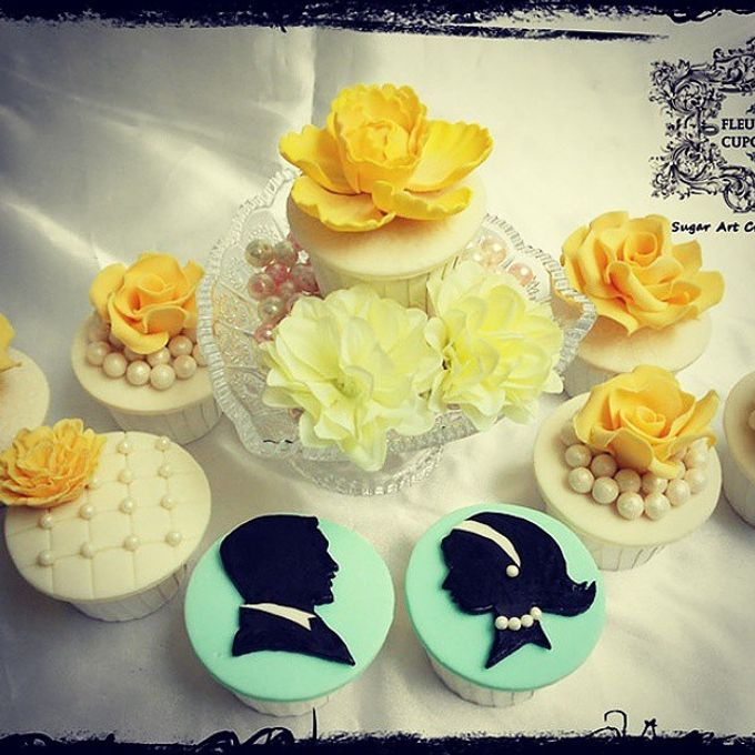 Engagements & Wedding Cakes by Fleur Bites Cupcakery - 021