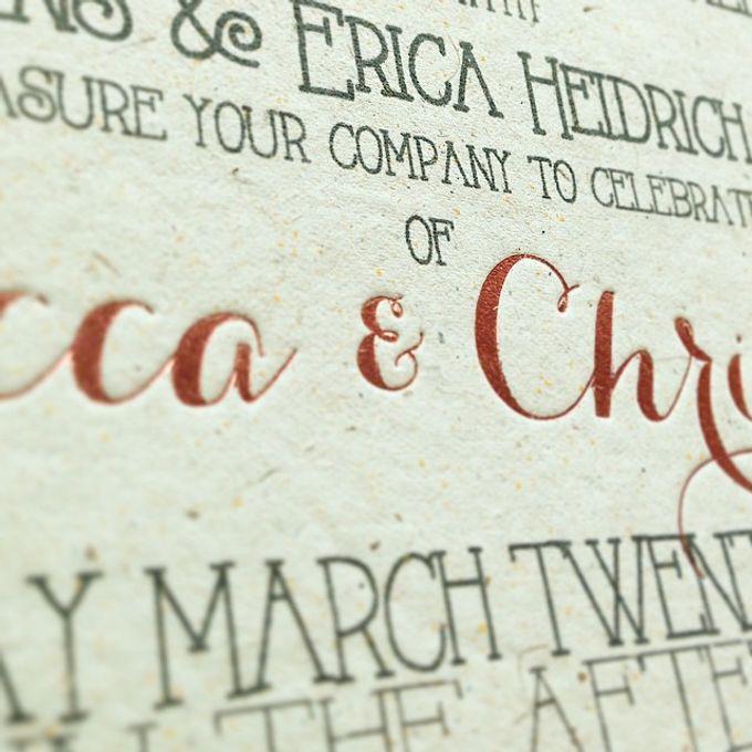 Rebecca & Christian by Little Paper Lane - 002