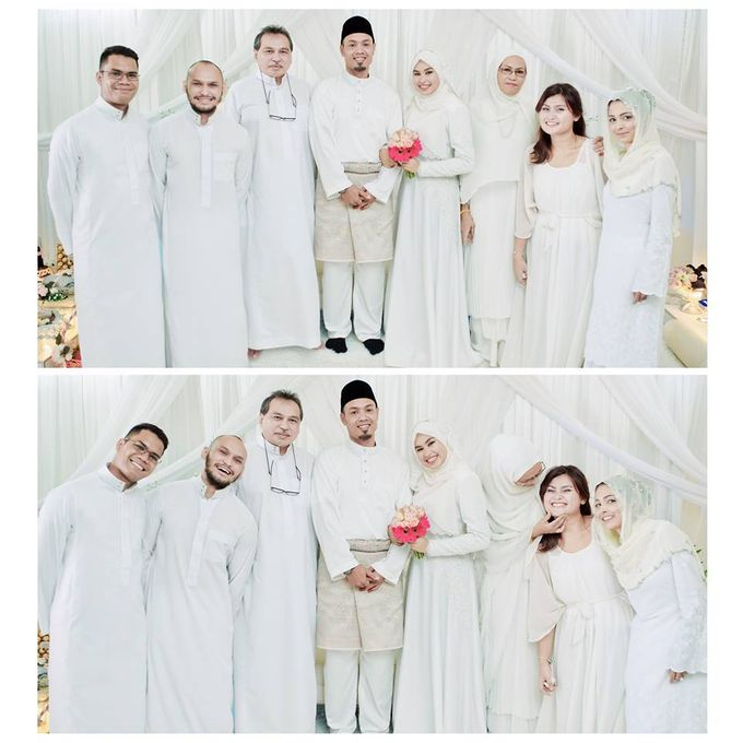 Solemnization of  Calissa & Nasoha by Amalina Tuna Photography - 011