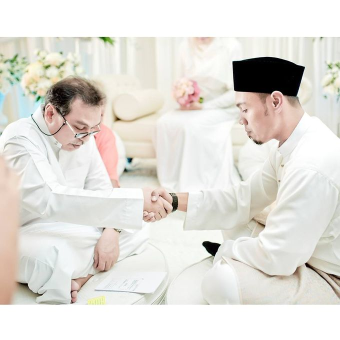 Solemnization of  Calissa & Nasoha by Amalina Tuna Photography - 012