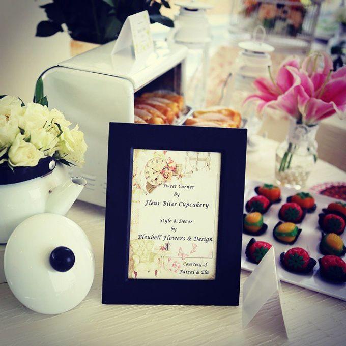 Dessert Table by Fleur Bites Cupcakery - 003
