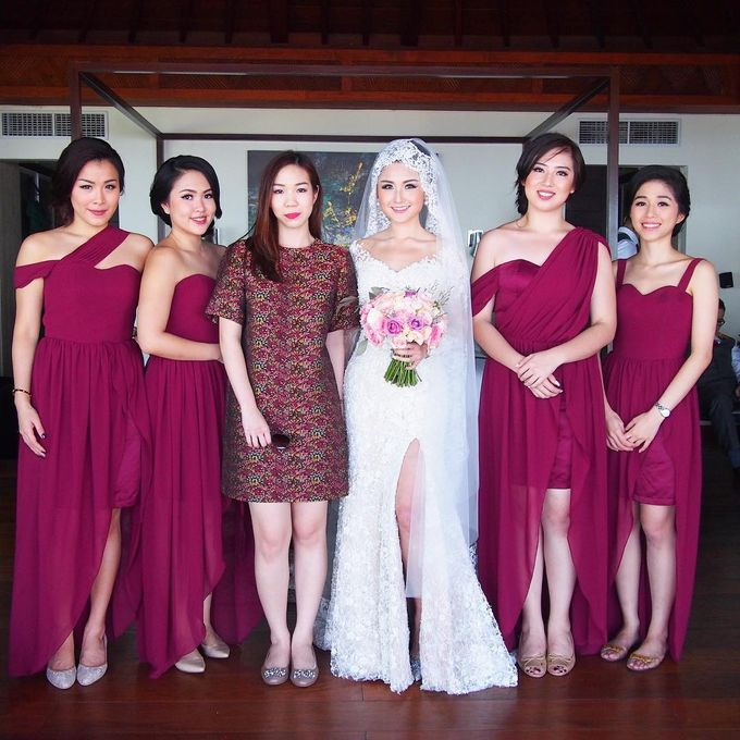 Jenifer Patricia wedding by Lademoiselle Bridesmaids - 004
