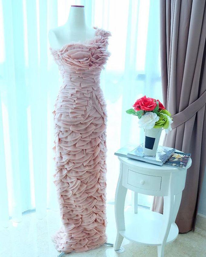 NEW ARRIVALS -EVENING DRESS by LAMIIK BRIDAL - 041