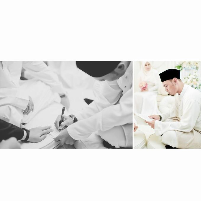 Solemnization of  Calissa & Nasoha by Amalina Tuna Photography - 013