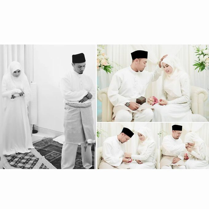 Solemnization of  Calissa & Nasoha by Amalina Tuna Photography - 014