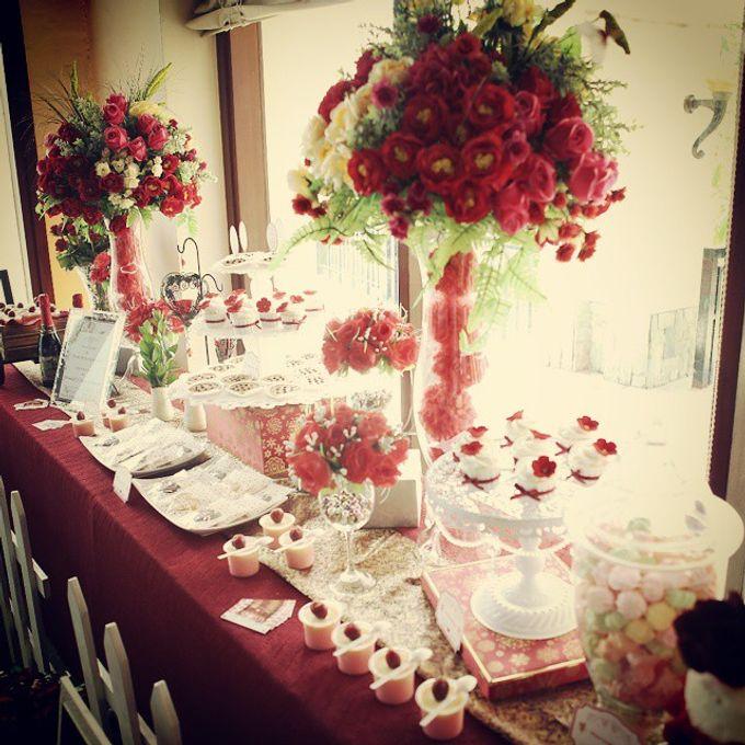 Dessert Table by Fleur Bites Cupcakery - 004