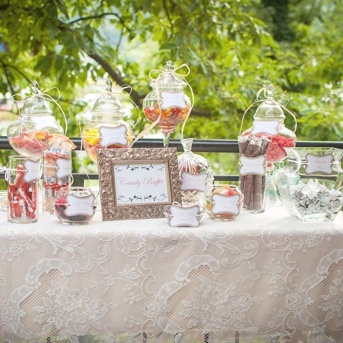 Butterfly themed first birthday party  by L&A Event Designs - 006