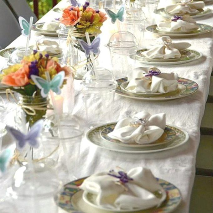 Butterfly themed first birthday party  by L&A Event Designs - 001