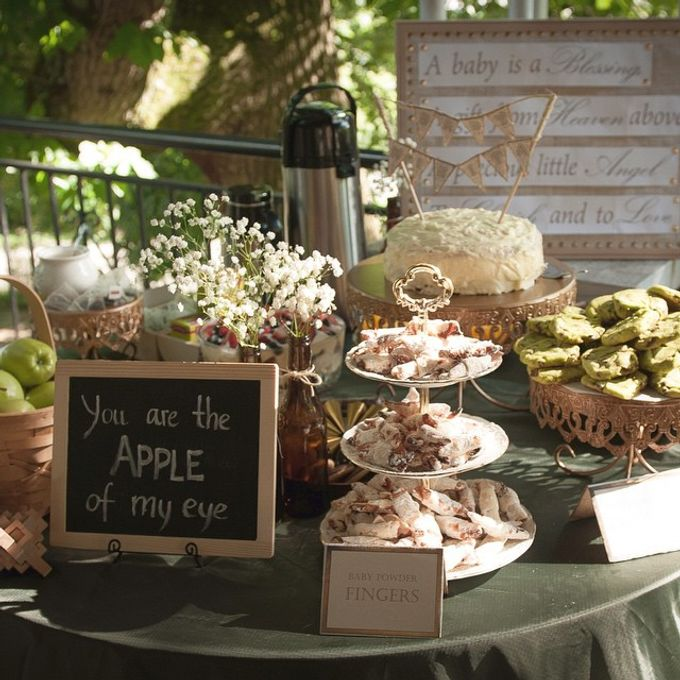 You are the apple of my eye (baby shower) by L&A Event Designs - 003