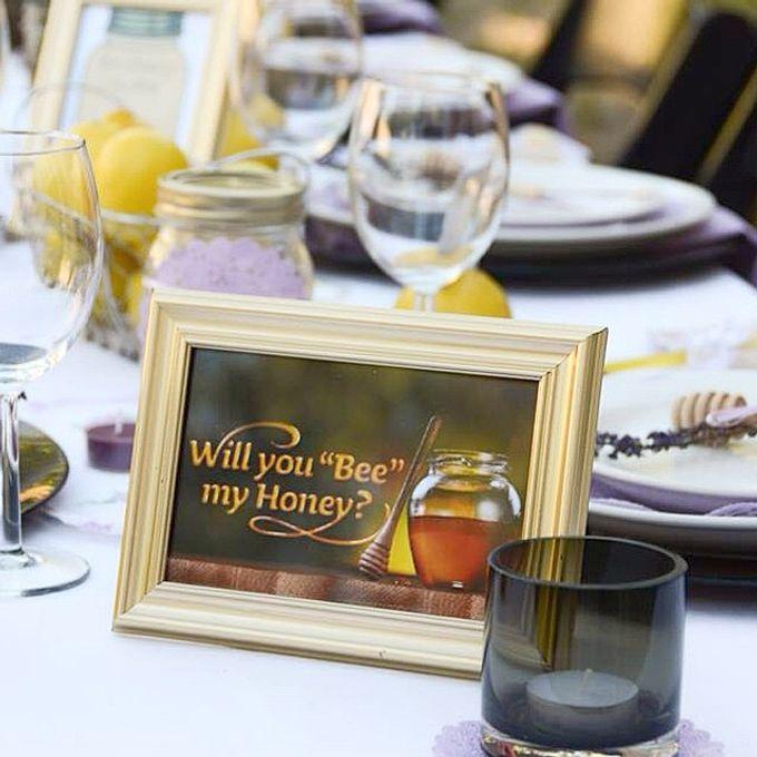 Honey+Lemon lover bridal shower  by L&A Event Designs - 002