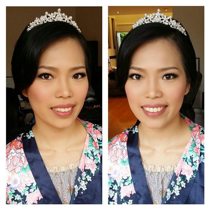 Bridal Makeup by Elly Liana Makeup Artist - 016