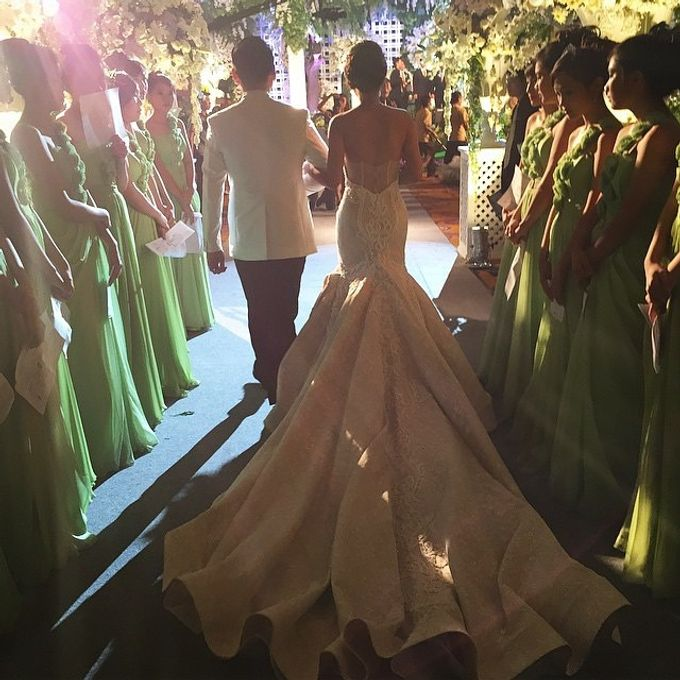 Grand Ballroom Wedding by Shangri-La Hotel, Surabaya - 015
