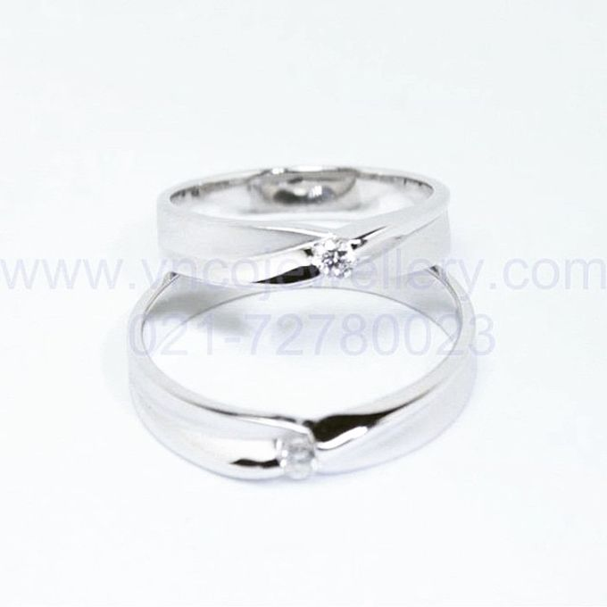 wedding ring simple Design by V&Co Jewellery - 028