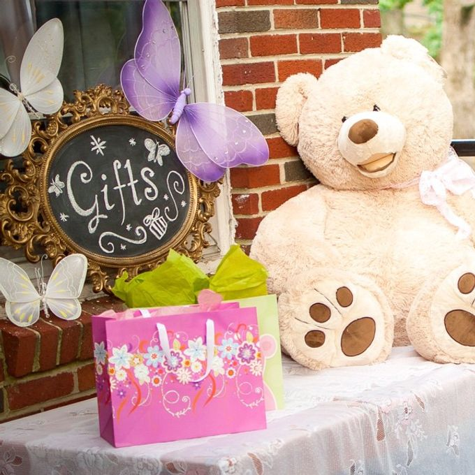 Butterfly themed first birthday party  by L&A Event Designs - 007