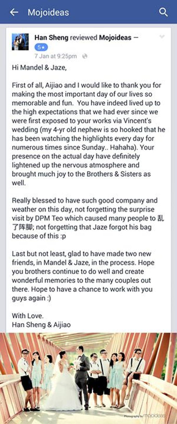 Real Wedding Testimonials by Mojoideas - 023