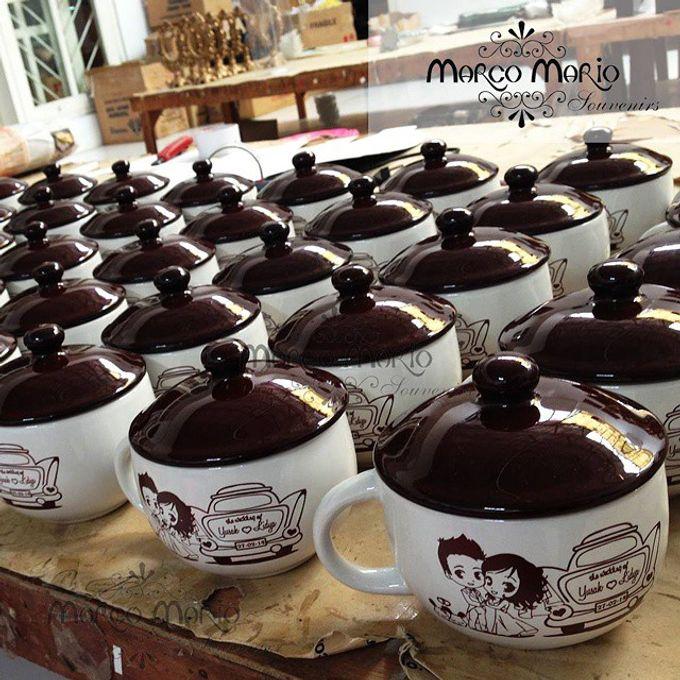 Ceramic Mugs & Cups Wedding Favors by Marco Mario Souvenir ...