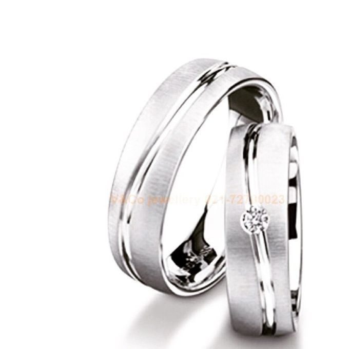 wedding ring simple Design by V&Co Jewellery - 027