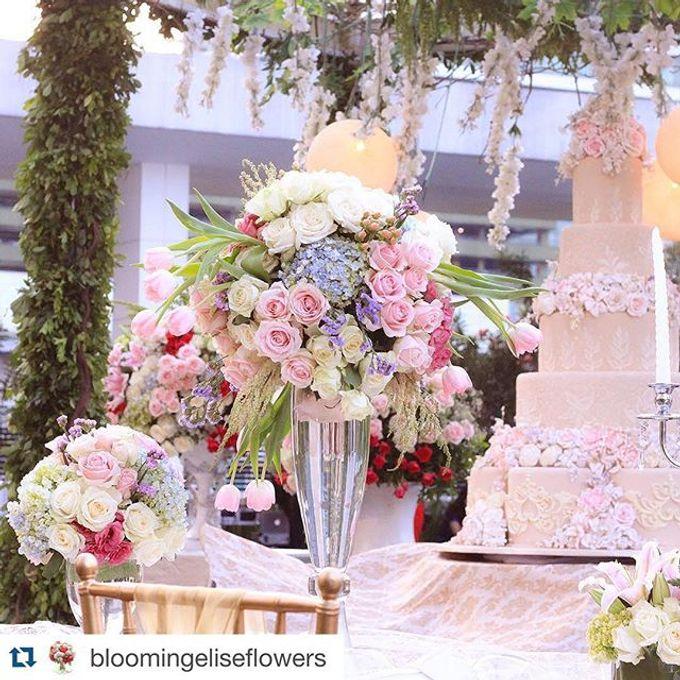Djeffri & Steffanny Wedding by Blooming Elise Flowers - 002