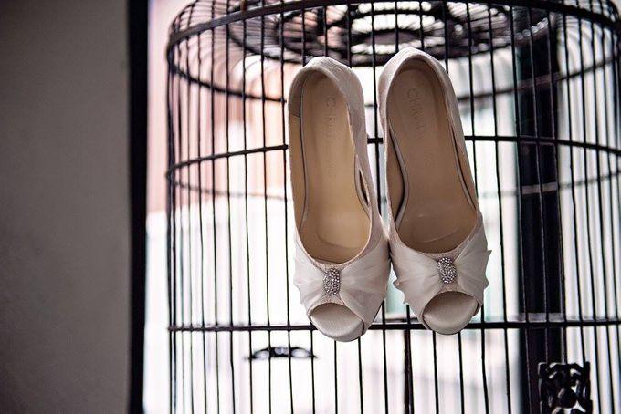 Bridal Shoe Close Ups by Christy Ng Shoes - 017
