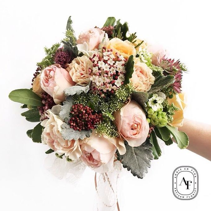 Bride Bouquet by Angie Fior - 022
