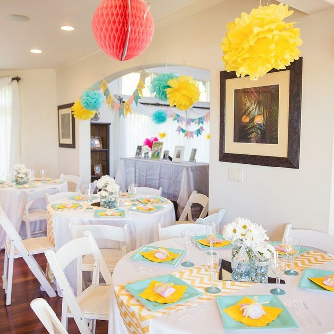 Bridal Shower by Bella Amour Events Hawaii - 003