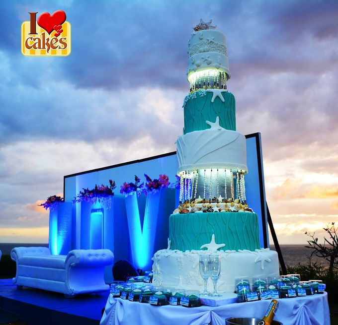 Wedding Cakes by I Love Cakes - 013