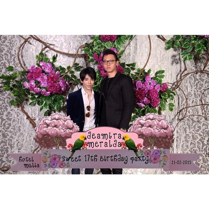 Deamira Meralda Sweet Seventeen Birthday Party by Laserman show - 004