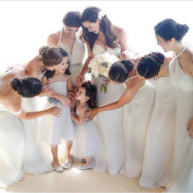 Customized Bridesmaids Dresses by White Label Bridal - 001