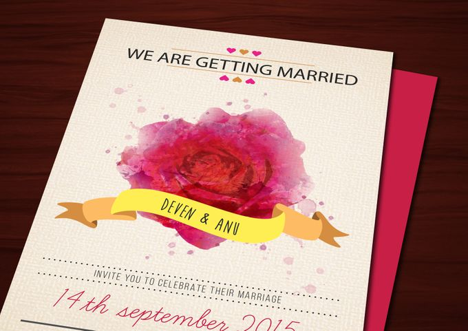 Printed Invitations by Let's Announce - 010